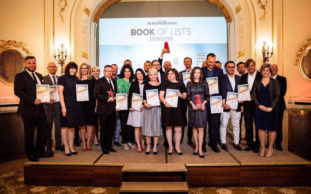"""Grupa Progres na pierwszym miejscu """"Book of Lists 2018/2019"""""""