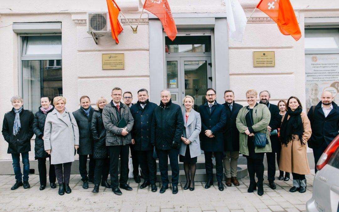 Gdańsk i Lwów przy naszym udziale zacieśniają współpracę gospodarczą