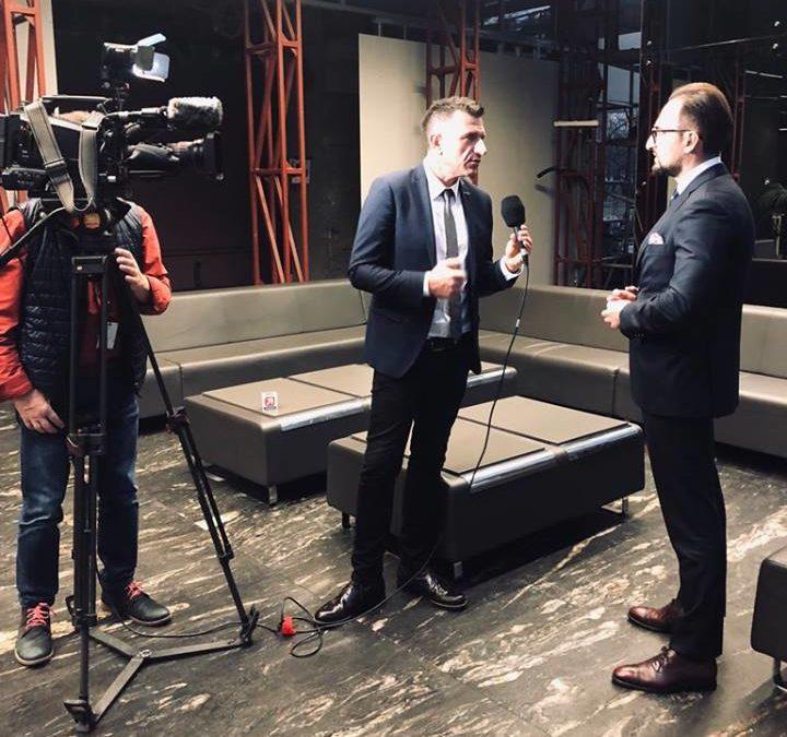 """Cezary Maciołek dla Polsat News: """"Istnieje duże ryzyko, że Ukraińcy wyjadą do Niemiec"""""""