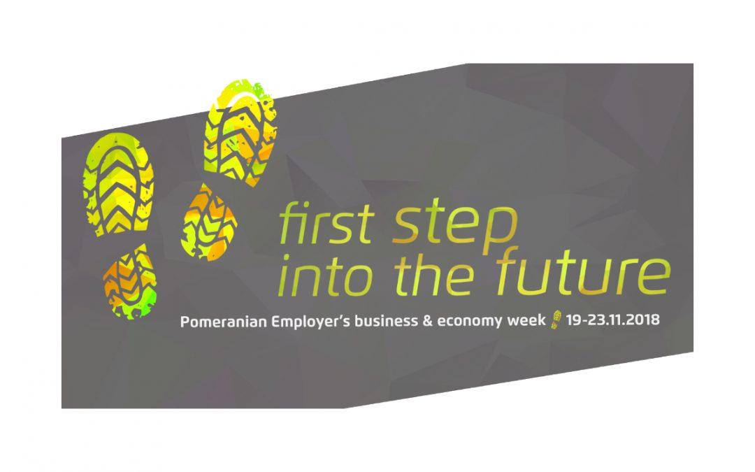 """Przyszłość rynku pracy. Przygotujmy się na nadchodzące zmiany – """"First step into the future"""""""