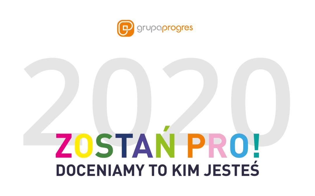 Progres tworzą ludzie, którzy są PRO!
