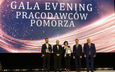 Otrzymaliśmy nagrodę specjalną Pomorskiego Pracodawcy Roku 2019