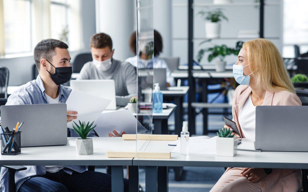 Kary za brak maseczki w miejscu pracy